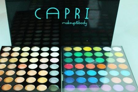 Palette Capri con 180 ombretti professionali a 34,99 euro