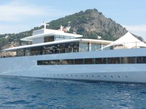 Venus il super yacht di Steve Jobs nelle acque di Capri (FOTO)