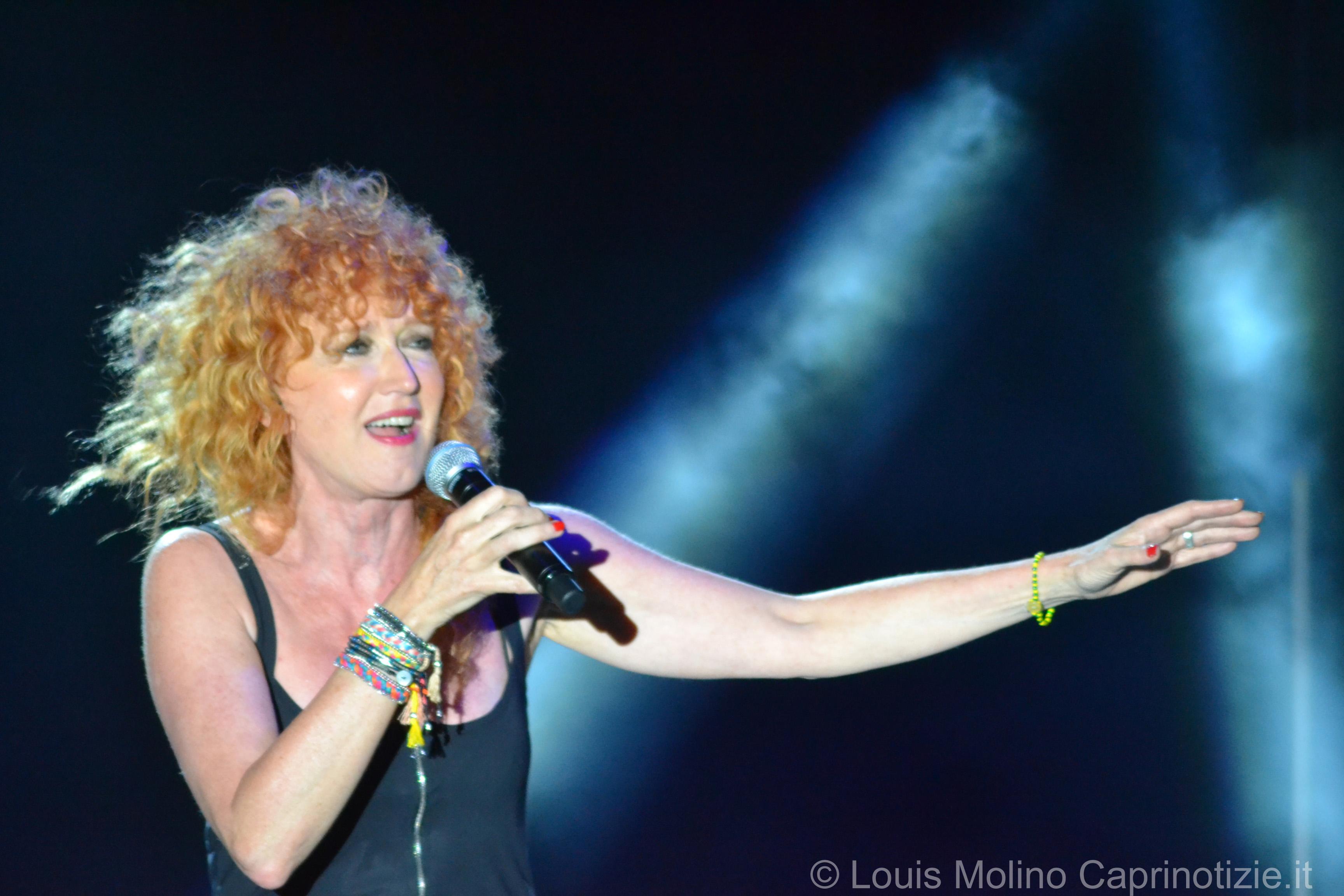 Fiorella Mannoia emoziona Capri, le foto del concerto