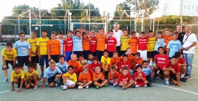 Grande successo per lo  stage estivo dell' Anacapri Calcio