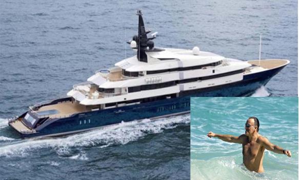 Vip a Capri - Bruce Springsteen e la moglie Patti Scialfa in vacanza a Capri