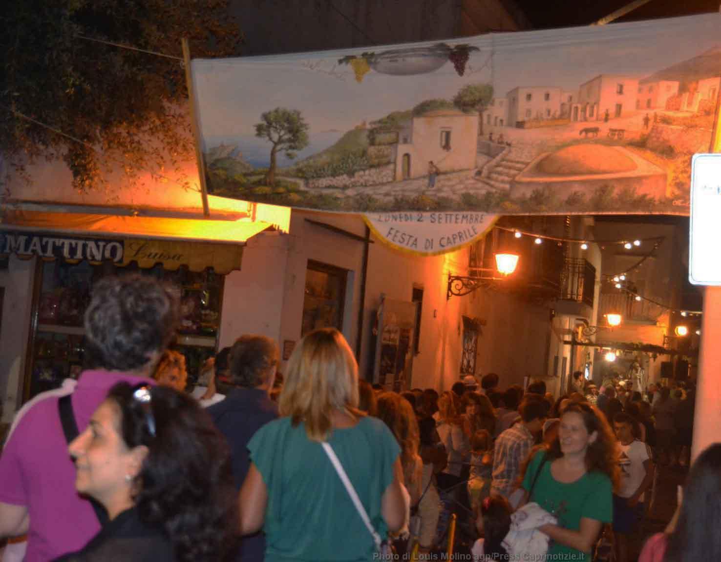 Settembrata anacaprese 2013: Il percorso gastronomico raccontato per immagini