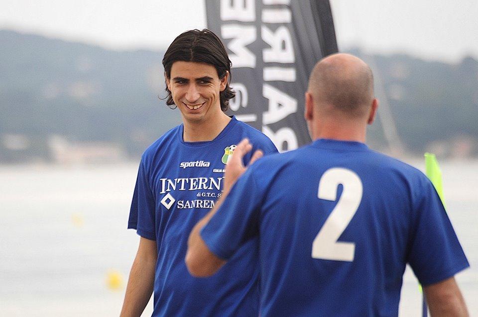 ll giovane calciatore caprese Alessandro Bratto al Verbano