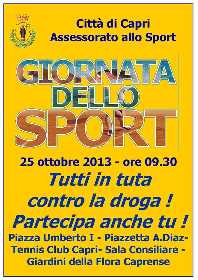 La giornata dello sport a Capri