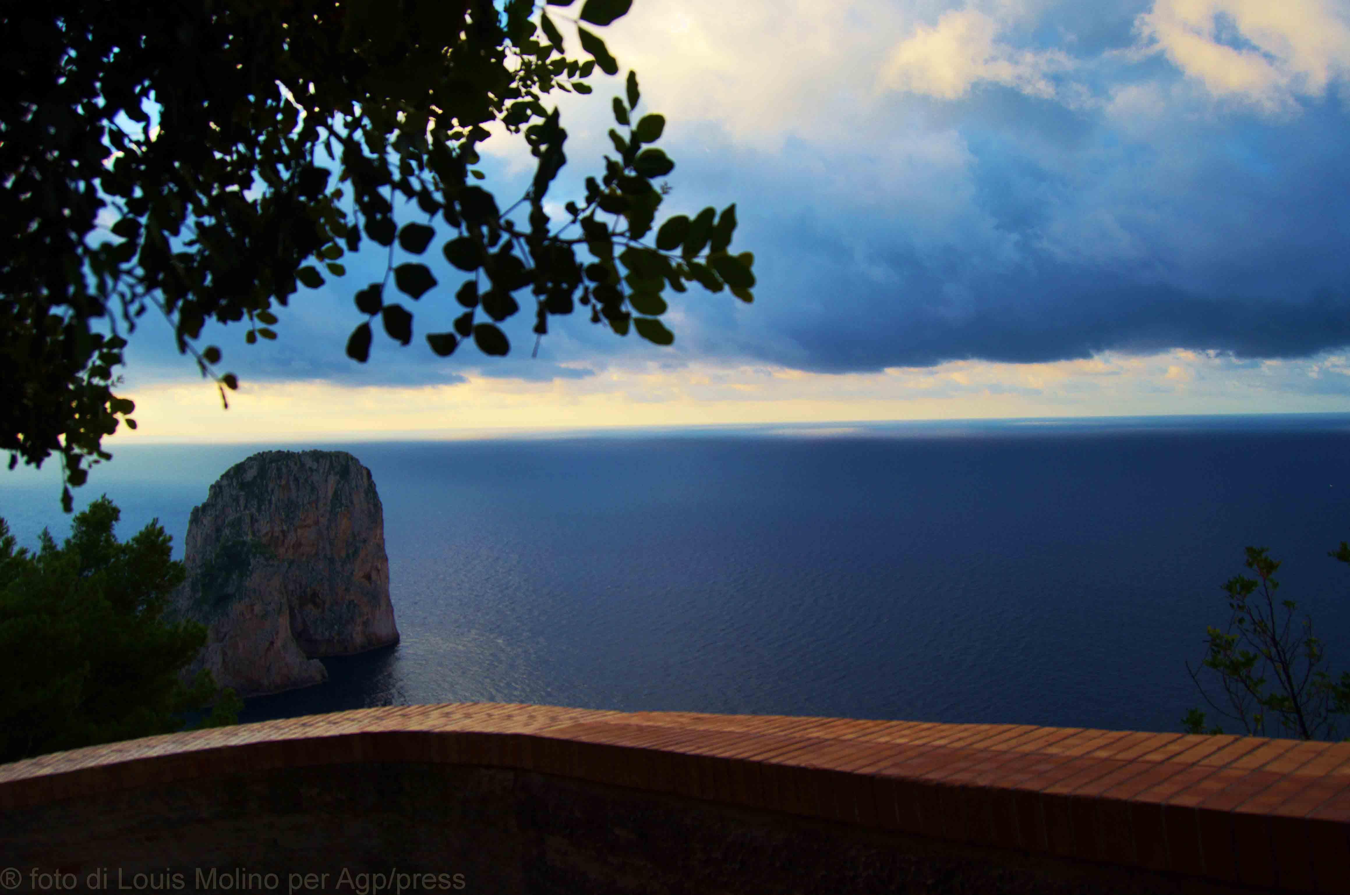 Autunno a Capri, 5 foto per lo sfondo del desktop