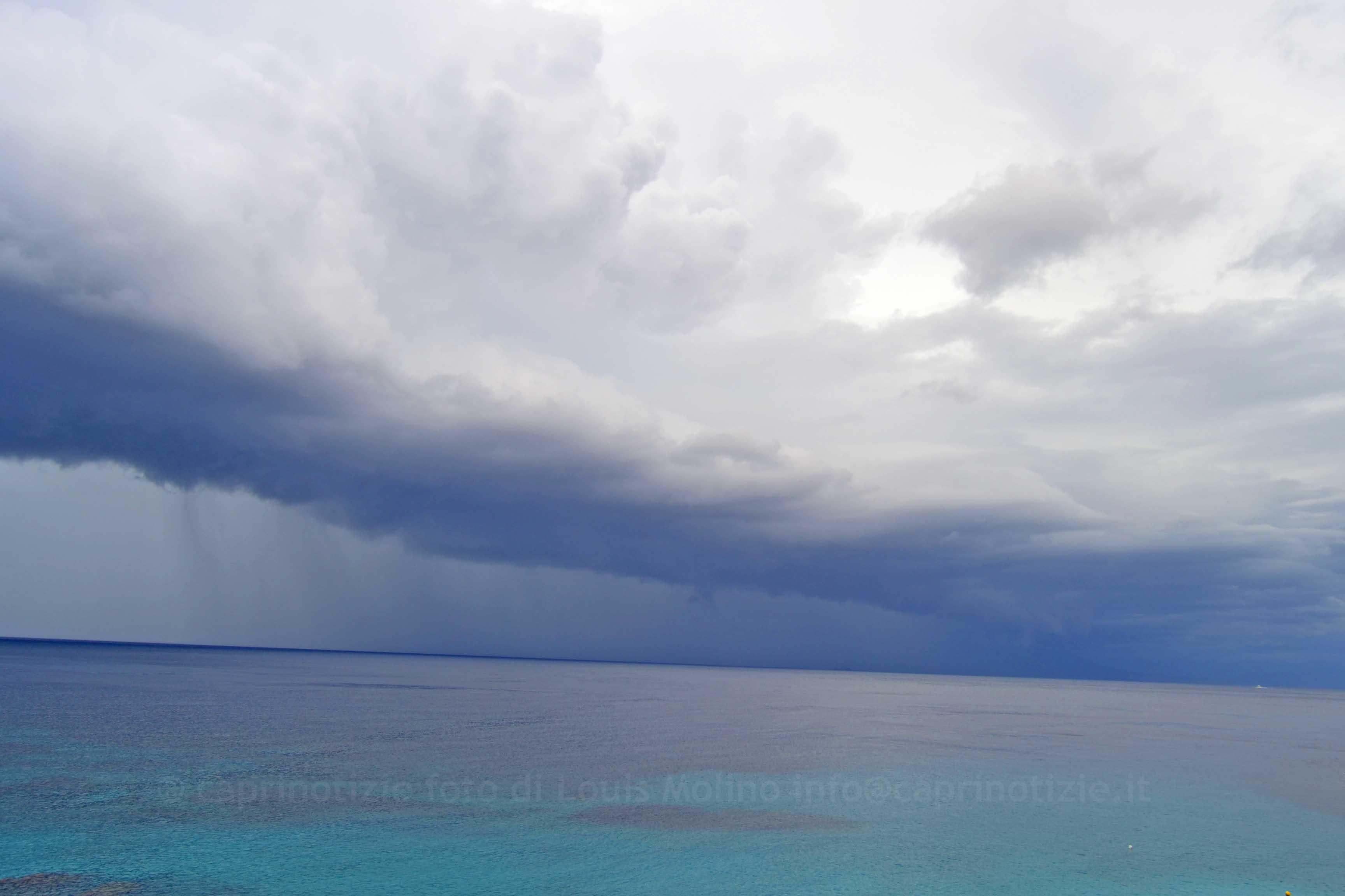 Capri temperature in calo, pioggia per il fine settimana