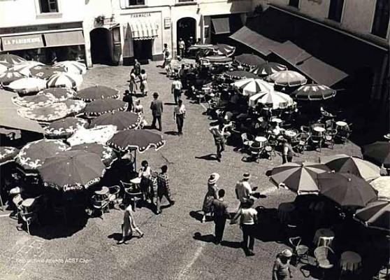 piazzeta capri 1950
