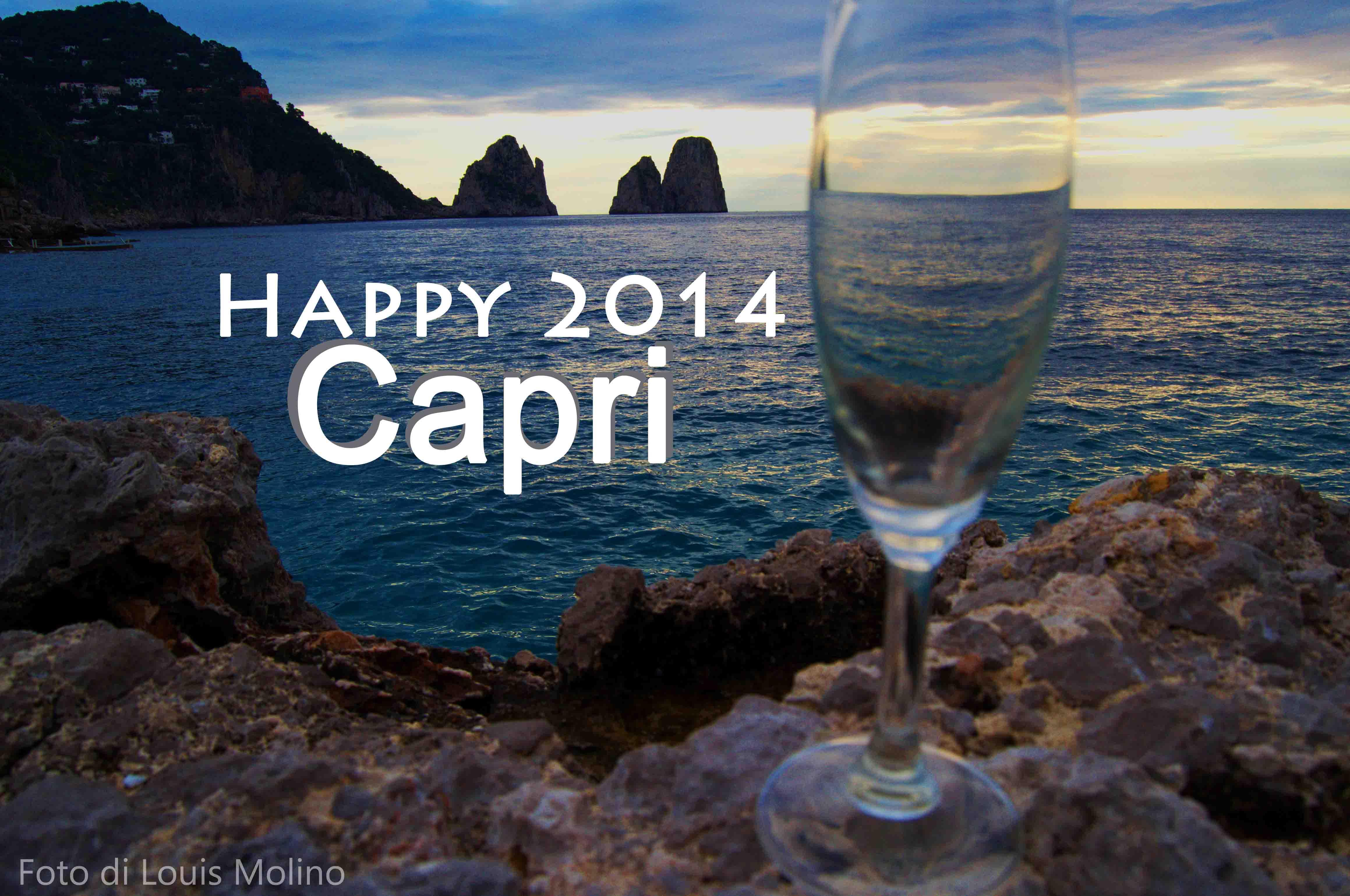 Buon anno da Capri auguri e foto da scaricare gratis
