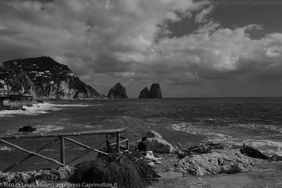 Capri, una giornata di febbraio, video di Costanzo Cappiello