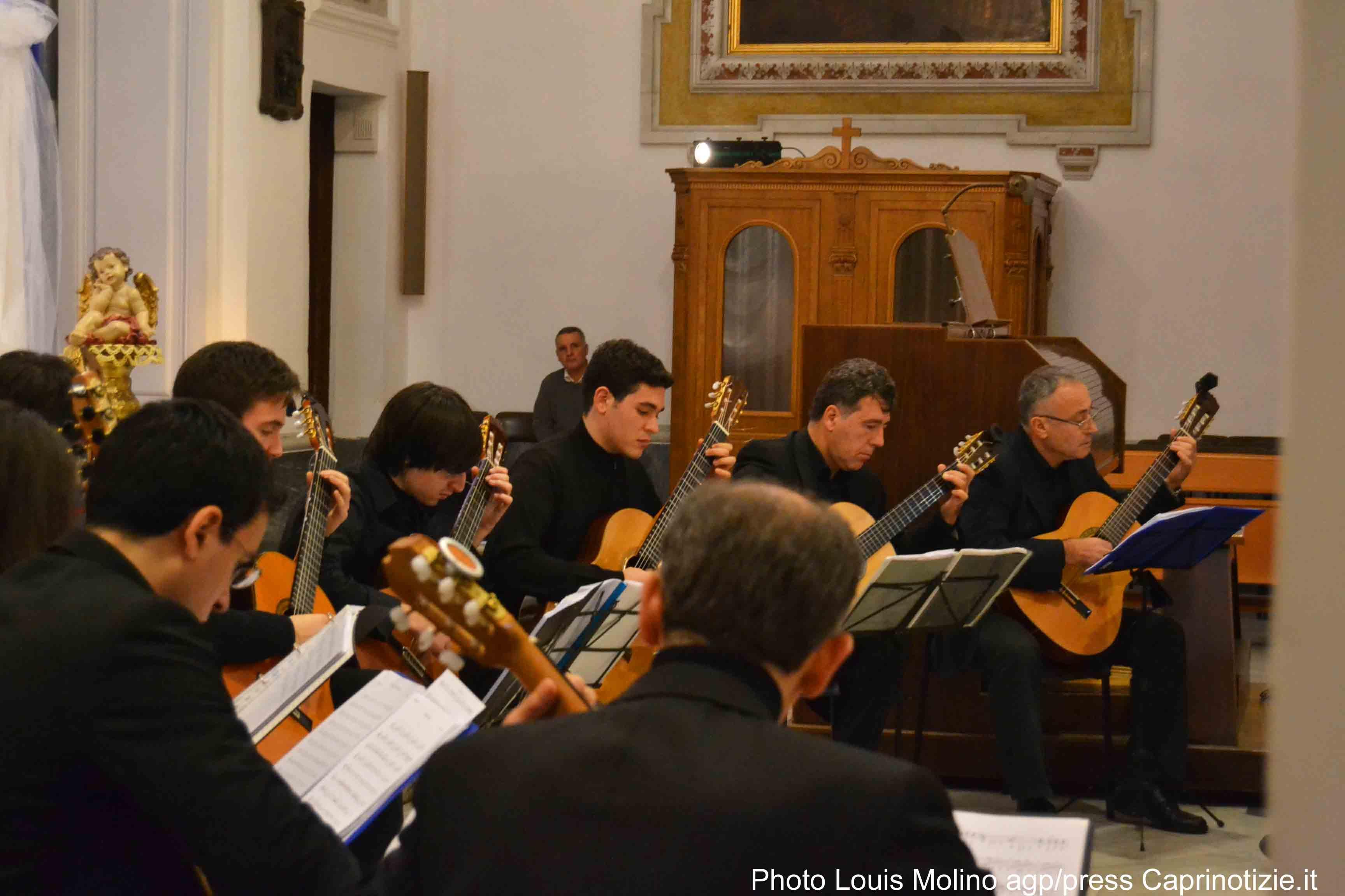Il concerto di capodanno dei Georges Bizet Guitar Ensemble (Foto esclusive)