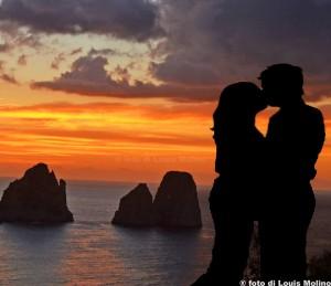 san valentino capri amore foto