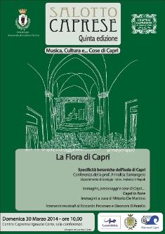 La Flora Caprese al centro del nuovo appuntamento domenicale del Salotto Caprese