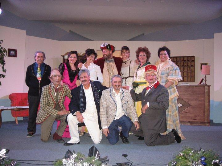 """Anacapri in Teatro, in scena """"Napoli Milionaria"""" per festeggiare i 40 anni della compagnia Arianis"""