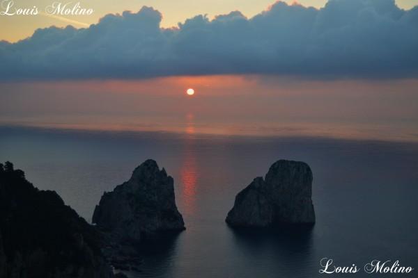 foto di Capri faraglioni tragara punta cannone anacapri photo