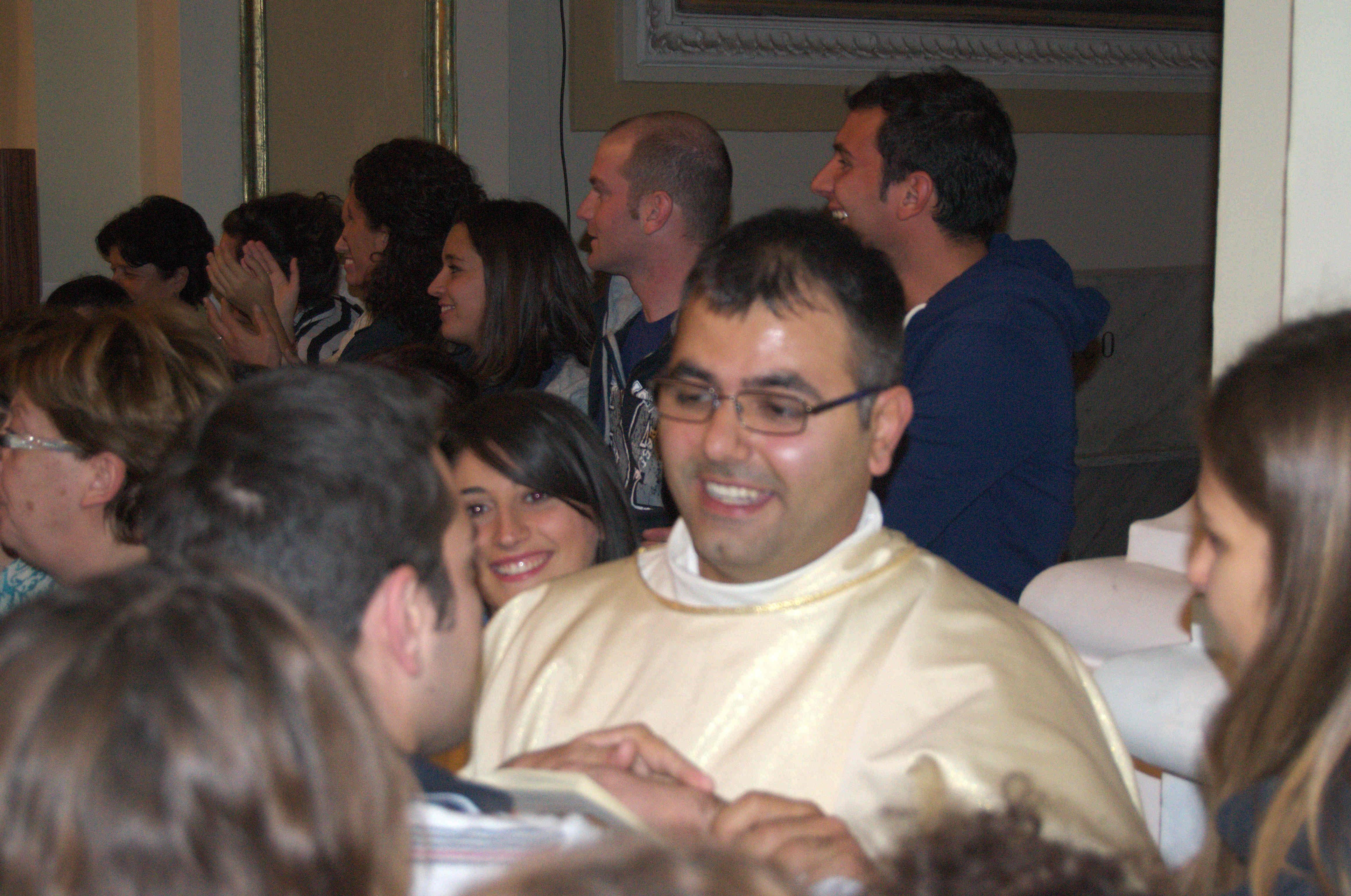 Don Maurizio Molino nominato Parroco presso Santa Maria la Carità lascia la Concattedrale di Castellamare di Stabia