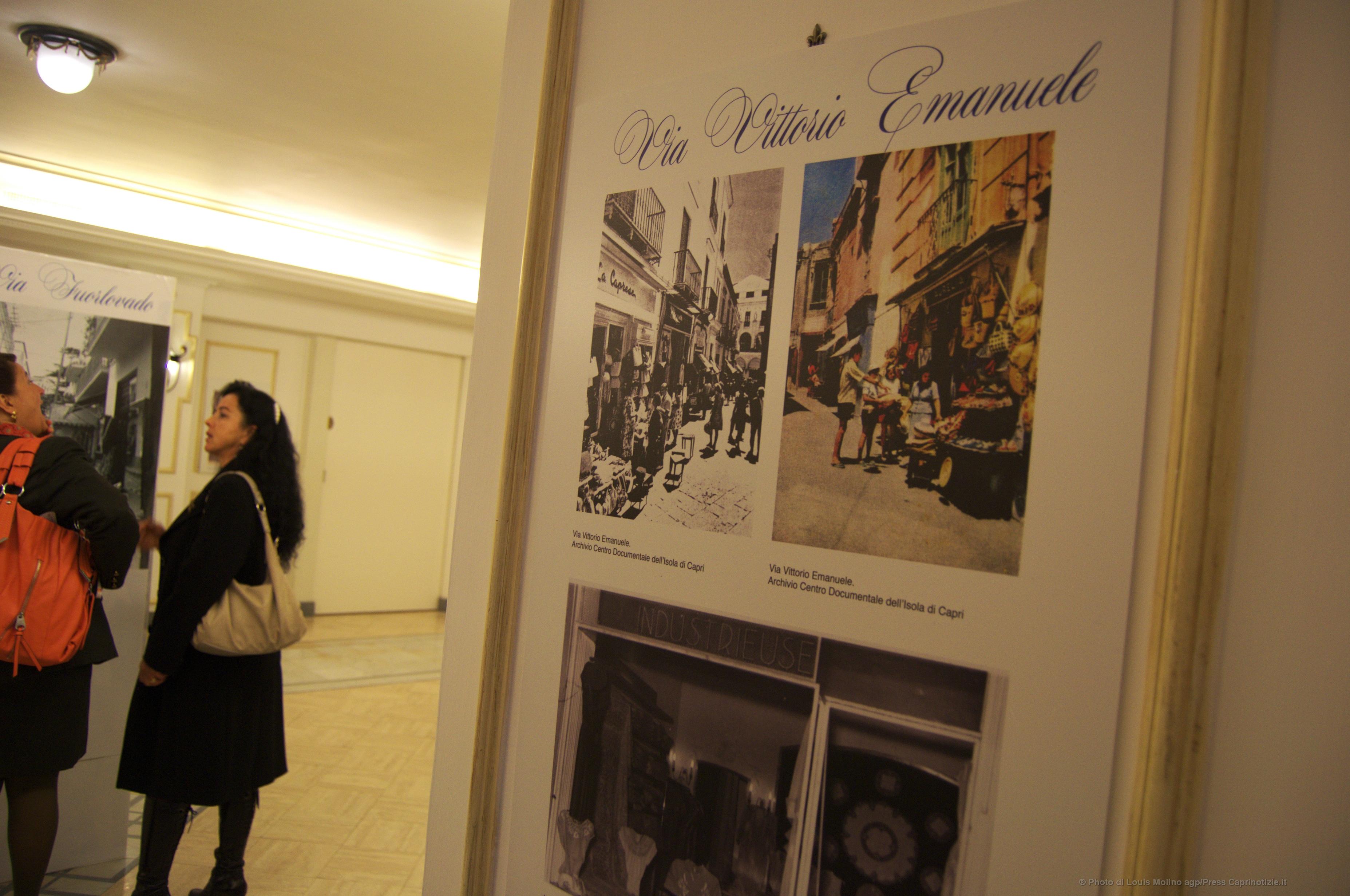 """""""Dalla Bottega alla Boutique"""" apre la mostra fotografica dedicata ai cento anni del commercio a Capri (Foto)"""