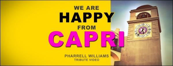 we are happy from capri