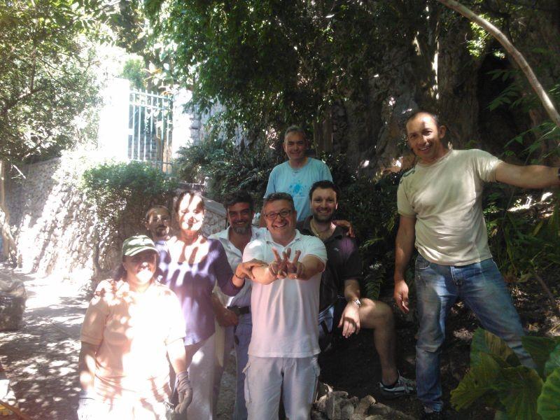 Volontari in azione a Capri, gli appuntamenti del fine settimana