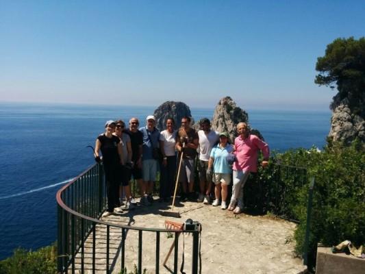 Volontariato a Capri: Ripulito il secondo tratto del Pizzo Luongo