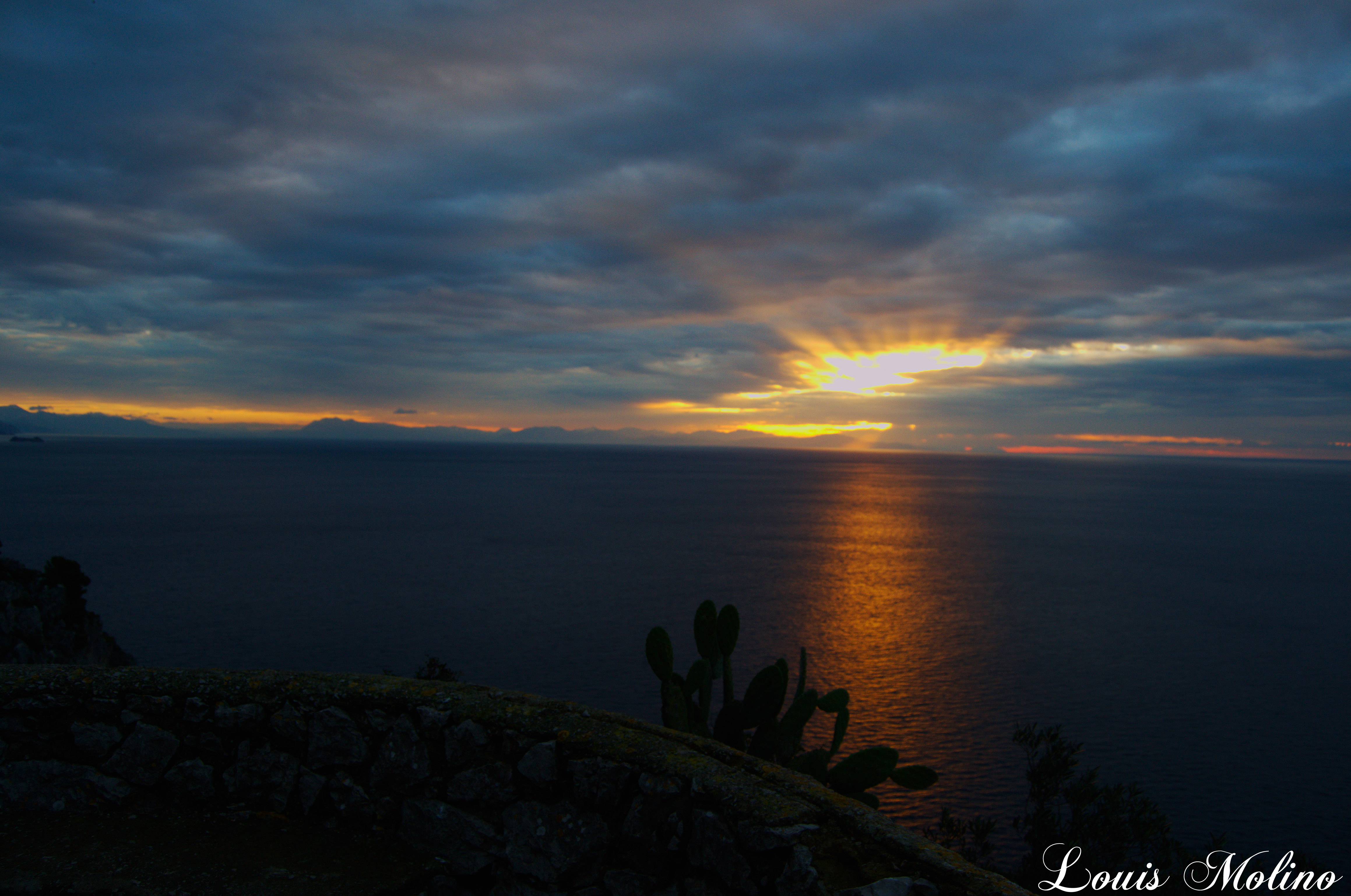 Capri. Allerta Meteo Arancione diramata dalla Protezione Civile