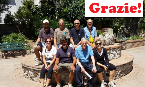 Volontari ridanno vita al parco della Flora Caprense