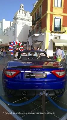 """La Maserati Exclusive Automobile sponsor a Capri  per """"Le Conversazioni"""""""