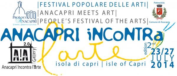 """""""Anacapri incontra l'arte"""" 57 artisti espongono 250 opere """"Il programma Completo"""""""