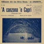 """""""A canzone e Capri"""" scritta da Aniello Califano (inedito)"""