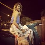 Elena Santarelli, vacanze a Capri con la famiglia (Video)