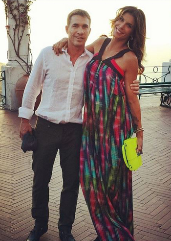 Elisabetta Canalis le foto della vacanza a Capri