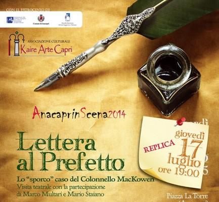 """""""Lettera al Prefetto. Lo «sporco» caso del Colonnello MacKowen"""" (replica)"""