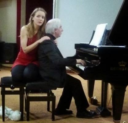 """Il grande il pianista Daniele Lombardi e il soprano Anna Spasic in concerto """" Futurismusical"""""""