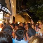 Leo Messi a Capri: dribbling tra centinaia di fans