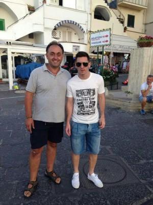 Leo Messi a Capri: la cronaca del primo giorno caprese
