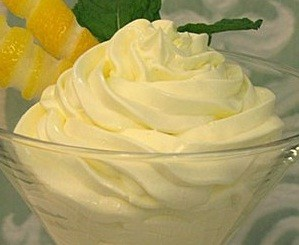 mousse limocello