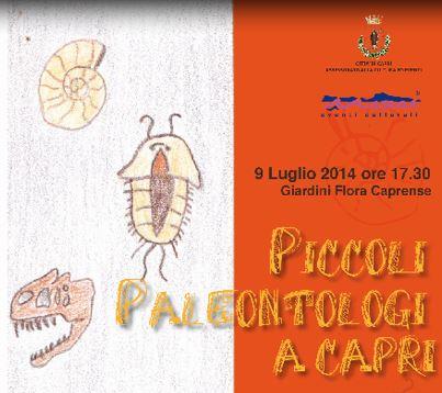 """""""Piccoli paleontologi a Capri"""" mercoledì le visite-gioco per bambini"""