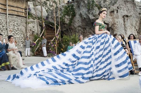 L'evento Dolce & Gabbana di Capri, il reportage di Suzy Menkes di Vogue