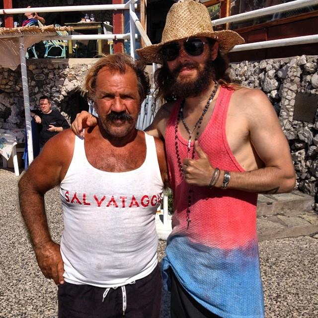 L'attore premio oscar Jared Leto  in vacanza a Capri (FOTO)