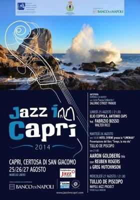 Jazz in Capri: Grandi artisti per l'edizione 2014: Tullio De Piscopo, Fabrizio Bosso, Aaron Goldberg e Salerno Street Parade,