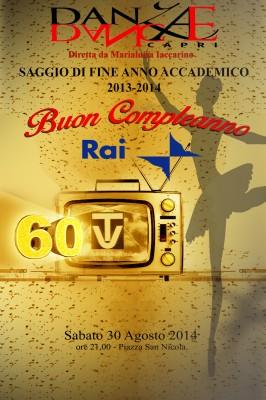 """""""Buon compleanno Rai 60 Tv"""" il saggio della scuola Danza Dance di Capri"""