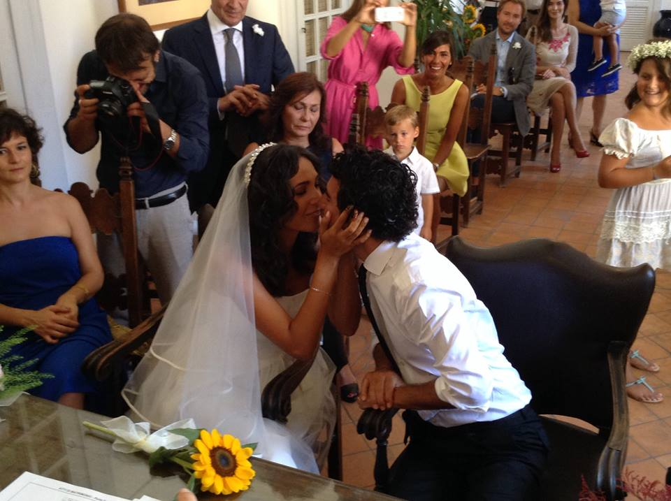 Vip a Capri: Caterina Balivo sposa a Capri, foto story e video