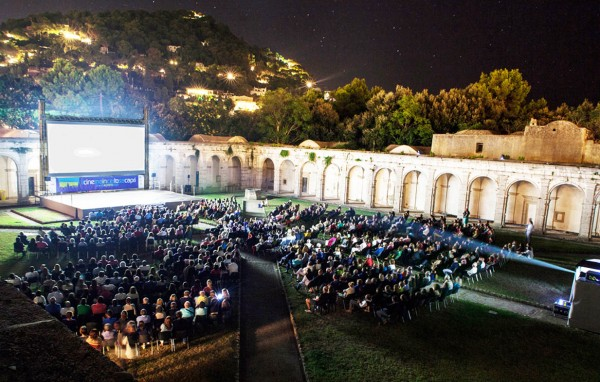 La Certosa di Capri apre le porte al grande cinema ed è subito un grande successo