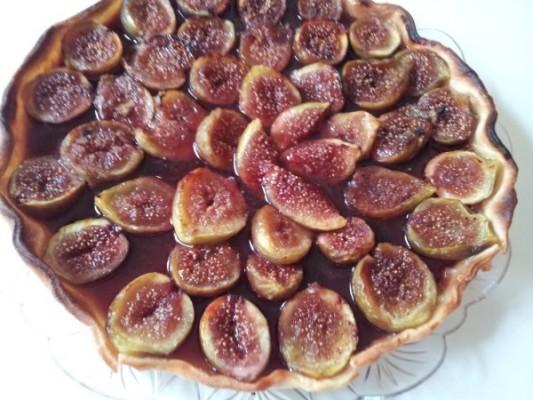 Crostata fichi cioccolato (video ricetta)