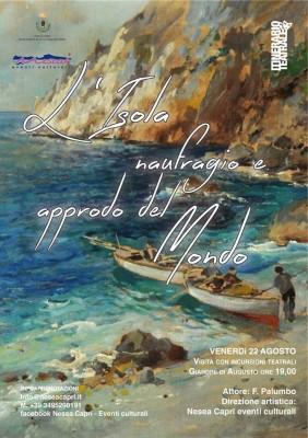 """""""L'isola, naufragio e approdo del mondo"""" il nuovo appuntamento di Nesea"""