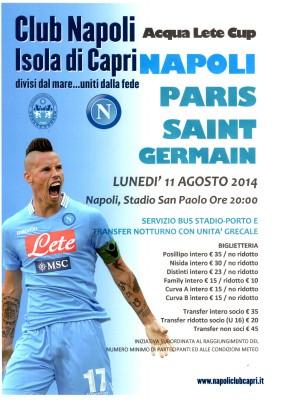 Iniziata la Campagna tesseramento Club Napoli isola di Capri