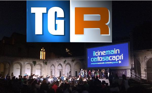 """""""Il Cinema in Certosa"""" il servizio del Tg3 Regione (Video"""