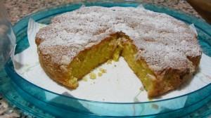 torta caprese limone