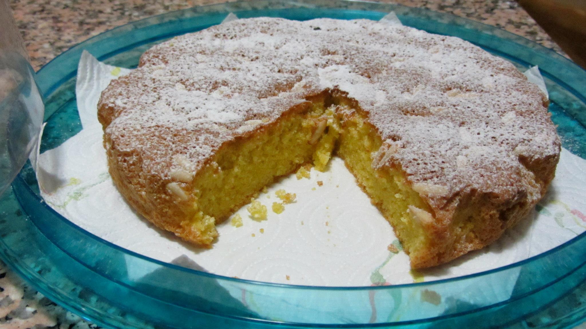 Da Capri L'originale ricetta della Torta Caprese al Limone
