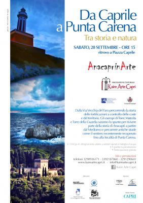 """""""Da Caprile a Punta Carena"""" il percorso tra storia, natura e tradizioni di Kaire Arte"""