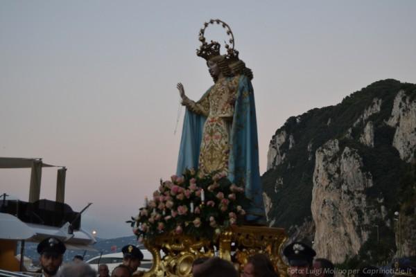 """La processione della """"Madonna della Libera"""" 2014″ foto e video"""